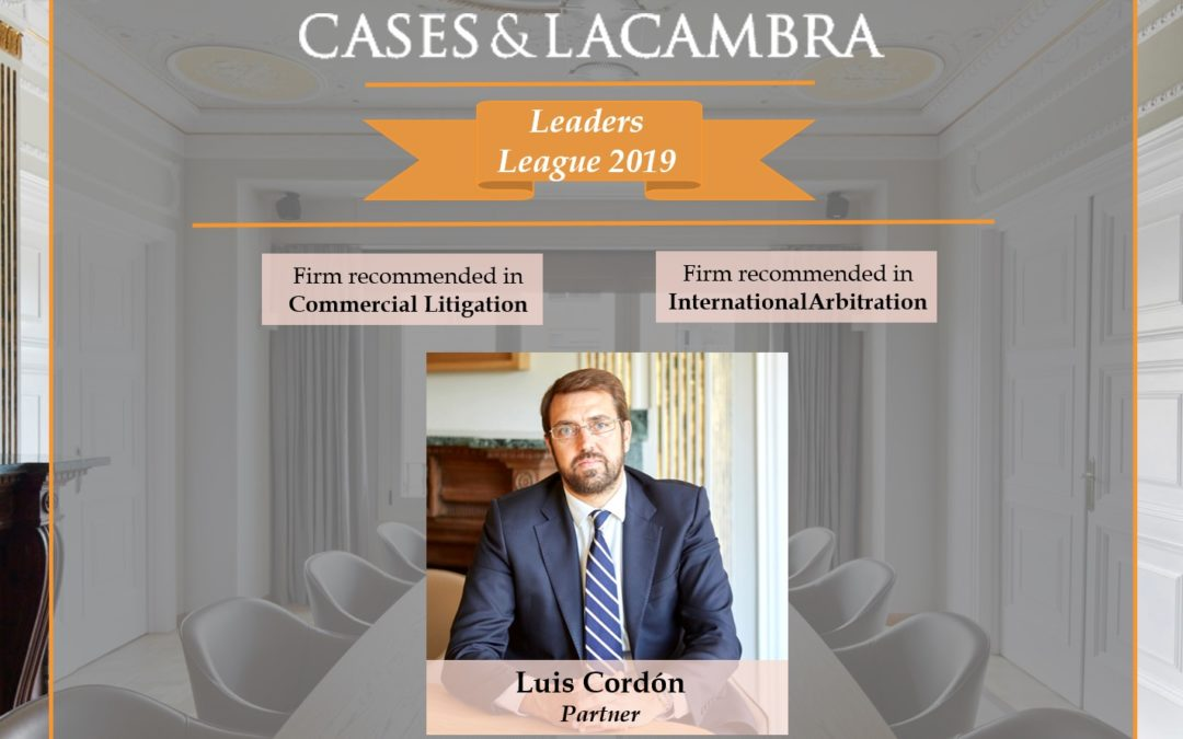 The Firm has been recognized byLeaders Leagueas a recommendedFirm in Litigation and Arbitration