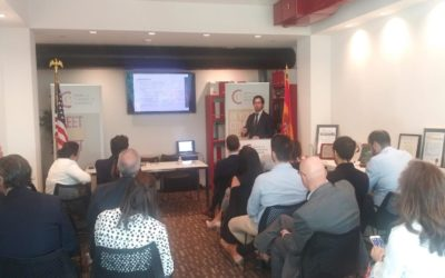 The Spain-US Chamber of Commerce organizes a business breakfast event to treat the strengths to invest in Madrid