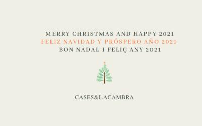 Bon Nadal i feliç any 2021!