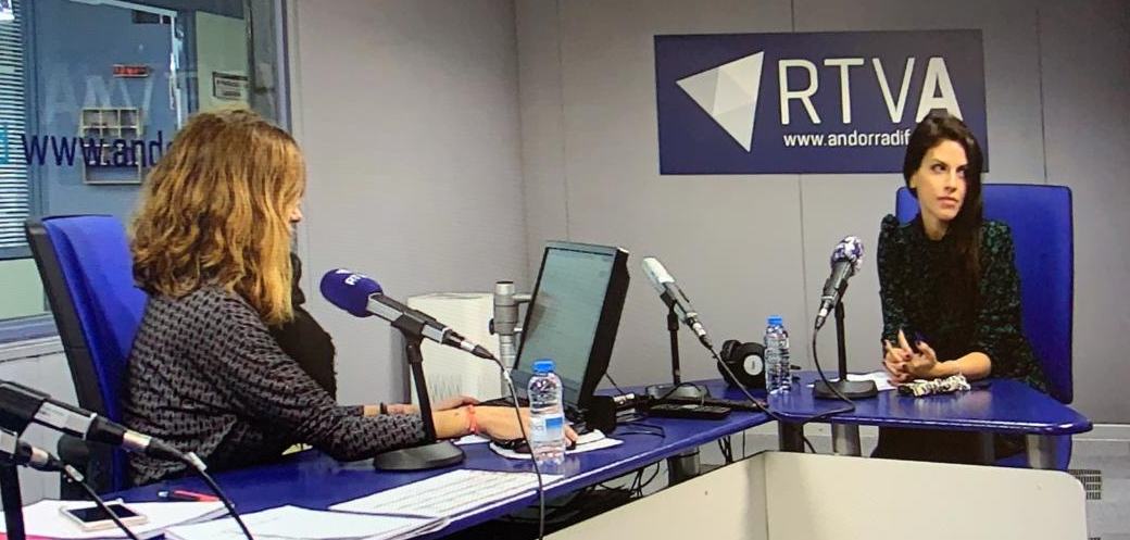 Laura Nieto, managing associate at Cases&Lacambra participated in the Ara i Aquí programme of Andorra National Radio