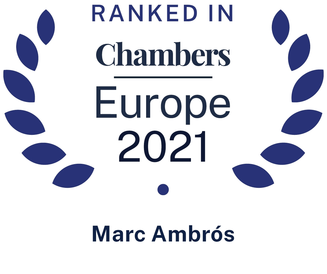 Chambers Europe Marc Ambrós 2021