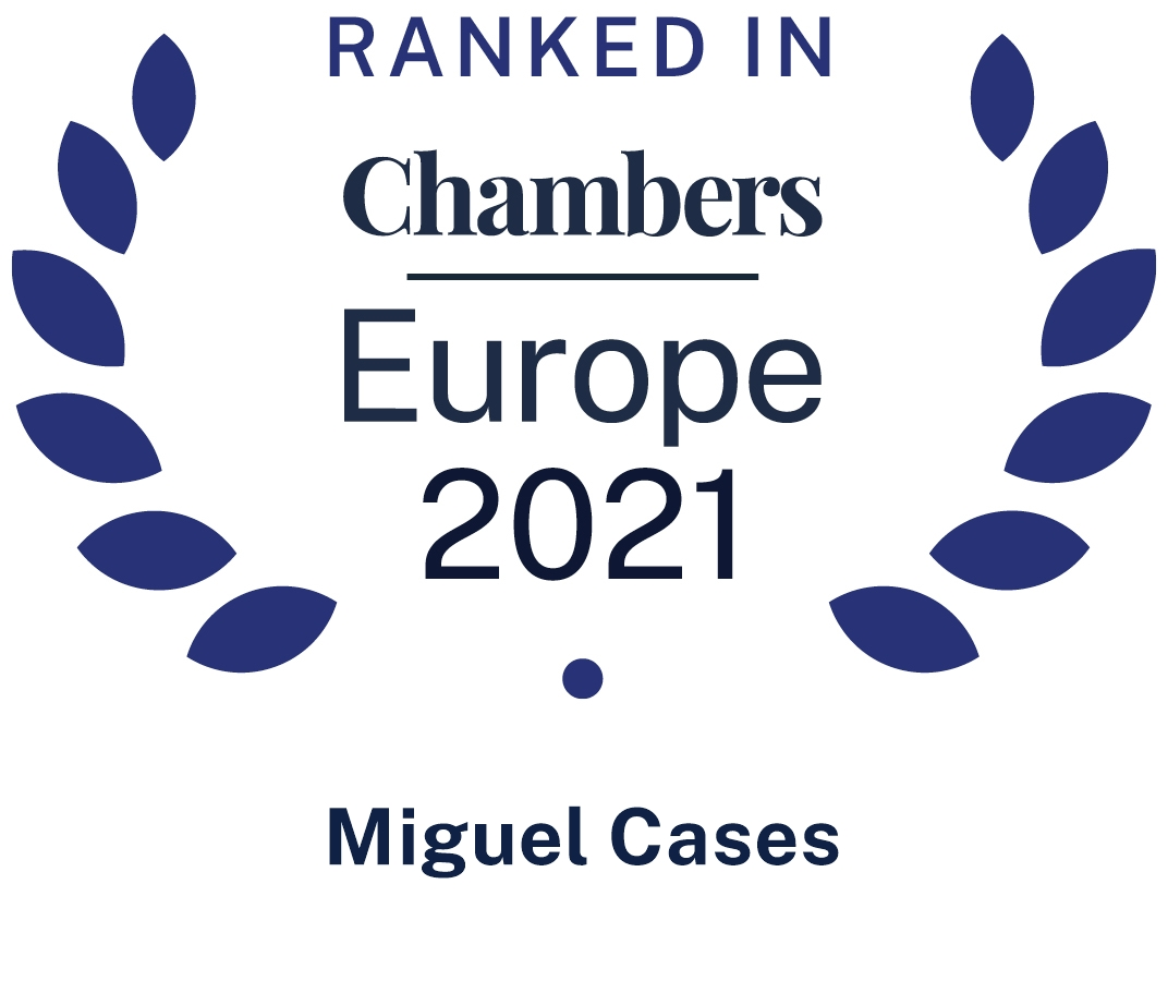Chambers Europe Miguel Cases 2021
