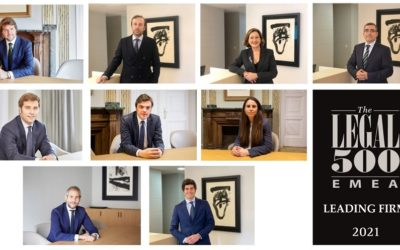Cases&Lacambra improves its ranking in the 2021 edition of The Legal 500