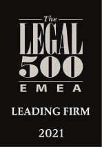 C&L Leading Firm Legal 500 2021