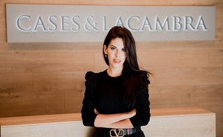 Laura Nieto, managing associate de Cases&Lacambra